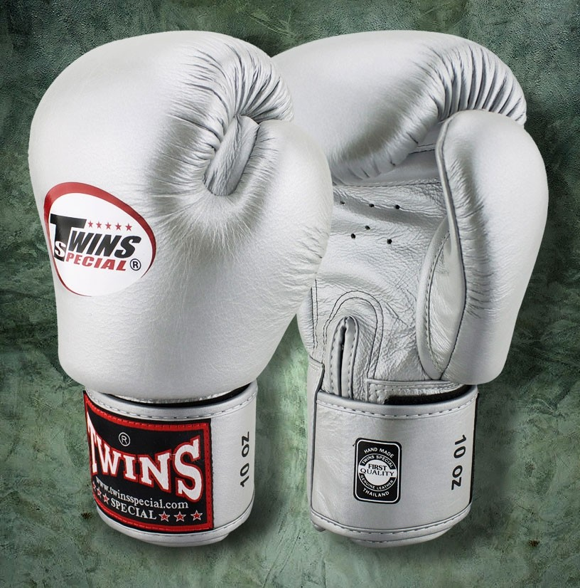 TWINS SPECIAL Boxing Gloves BGVL3 Silver