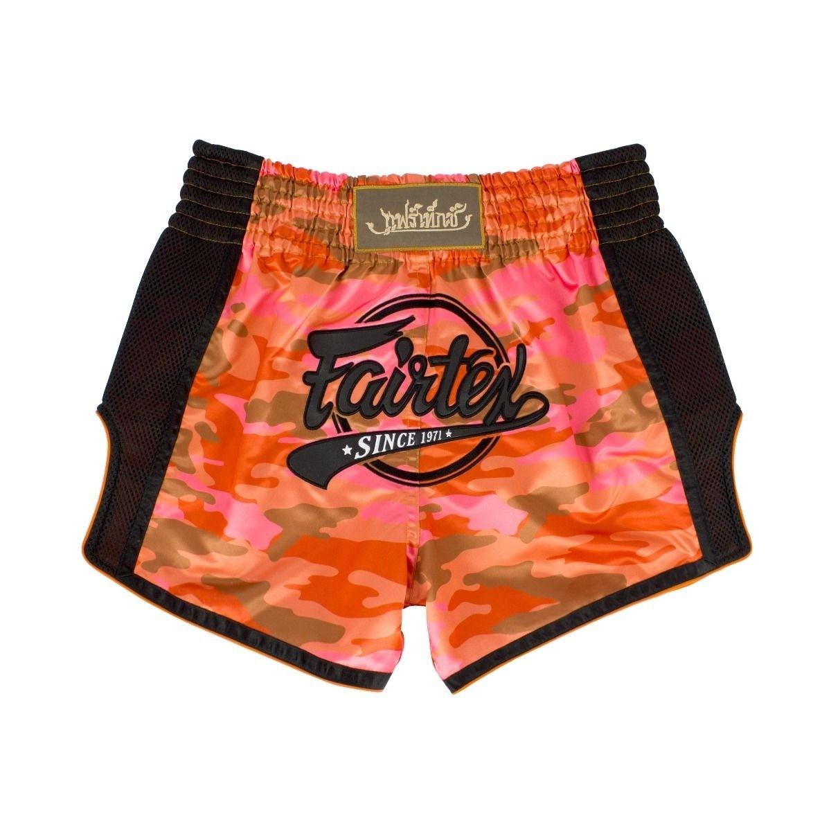 Fairtex Muay Thai Shorts - BS1711 Orange Camo