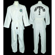 Omas ITF color belt uniform
