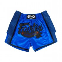 Fairtex Muay Thai Shorts - BS1702 Blue