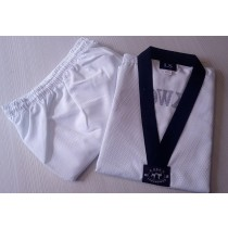 LS Taekwondo Black Belt Dobok (Ribbed cotton)