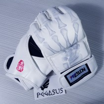 Wolon 'Ghost Hand' White MMA UFC Boxing Grappling Gloves