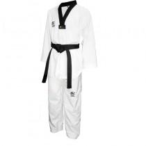 WACOKU Black belt Fighter Dobok, Lightweight 100% Polyester (WT Approved)