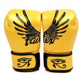 "Fairtex Gold ""Limited"" Edition - Muay Thai/Boxing Gloves"