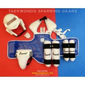 ORIENTAL TAEKWONDO SPARRING GEAR SET