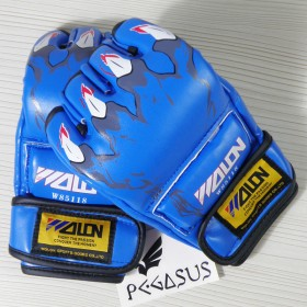 Wolon 'Claw' Blue MMA UFC Boxing Grappling Gloves