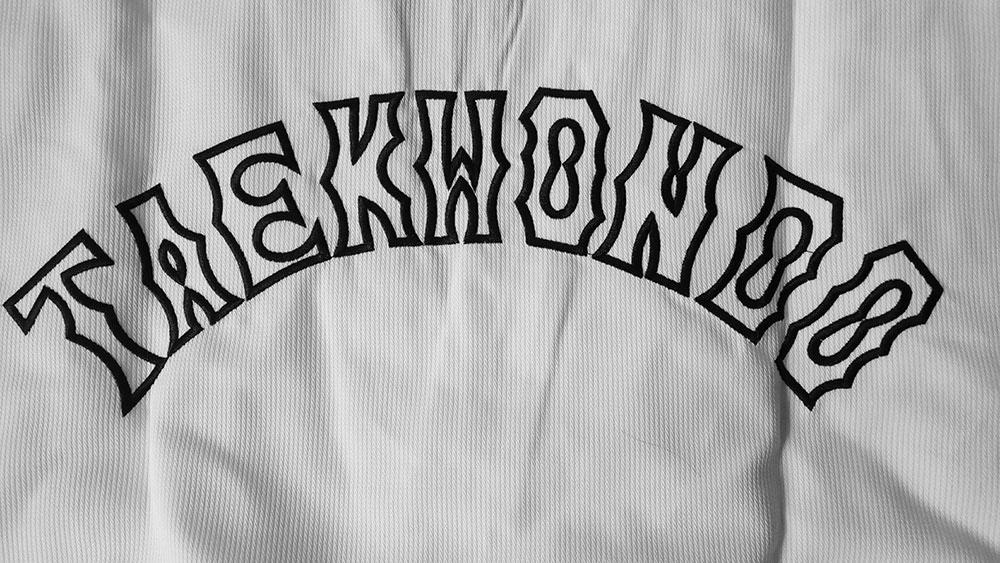 Embroidery Taekwondo uniform