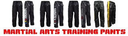 Martial arts pants